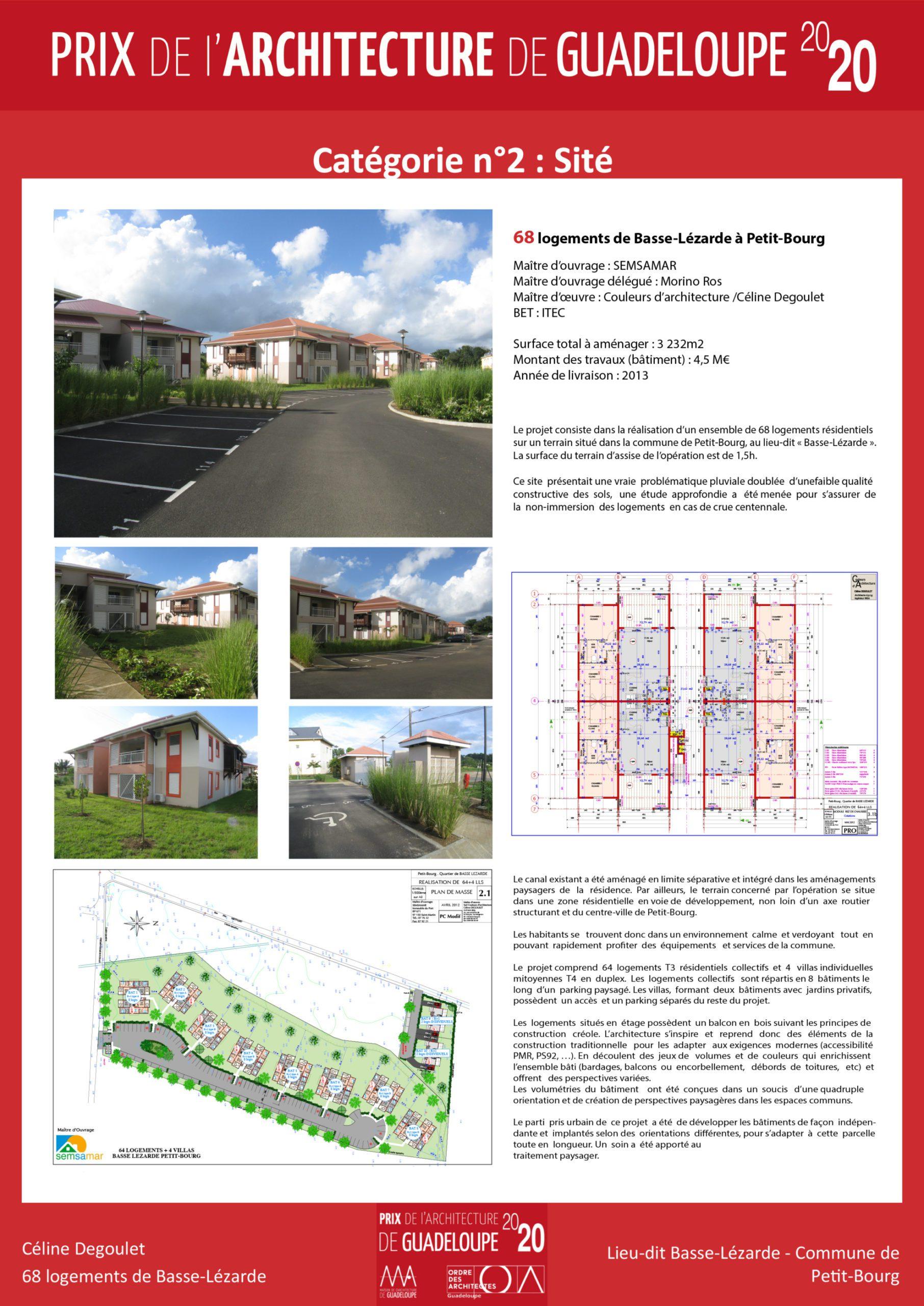 68 logements de Basse-Lézarde (Céline Degoulet)