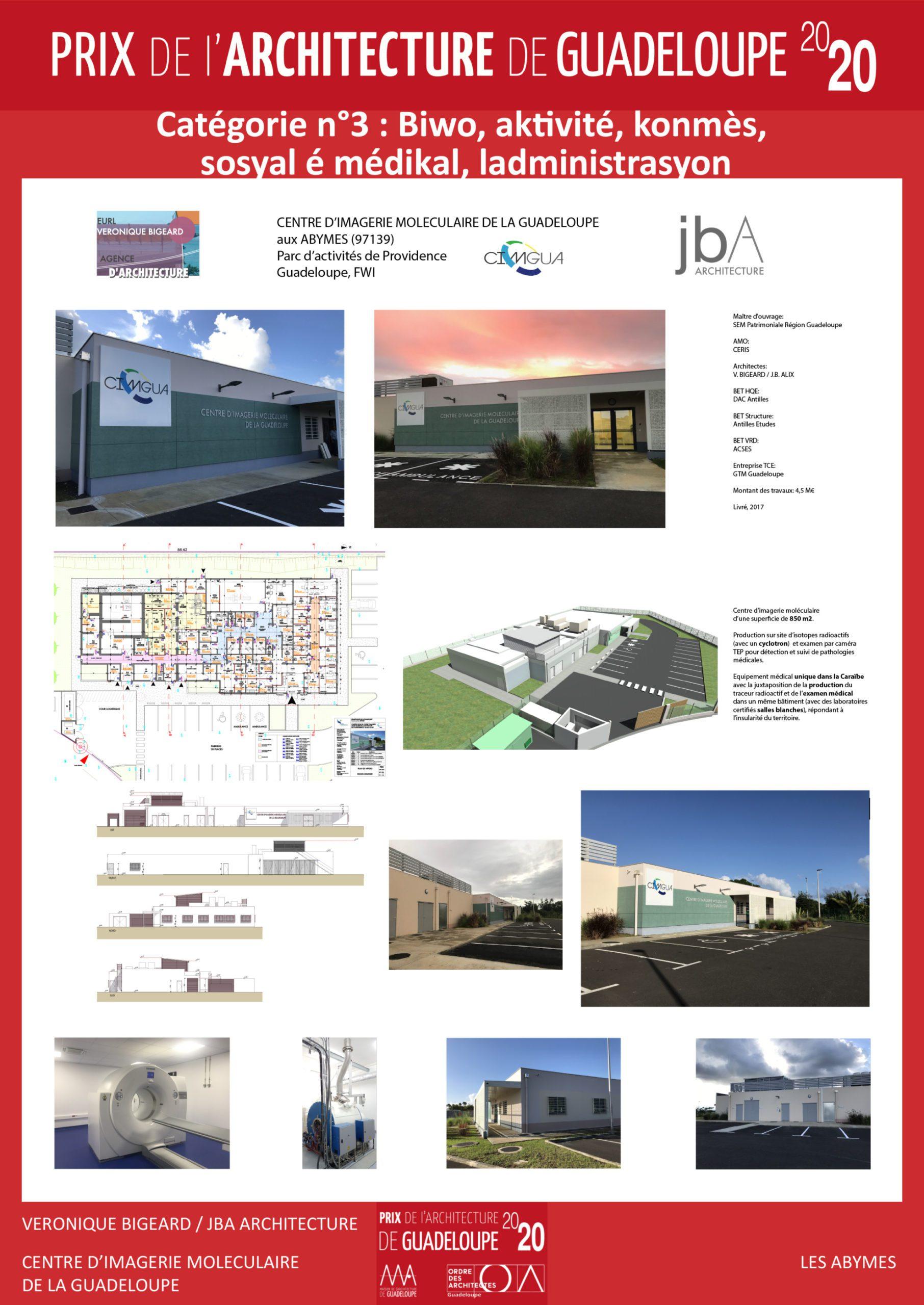 Centre d'Imagerie Moléculaire de la Guadeloupe (Véronique Bigeard)