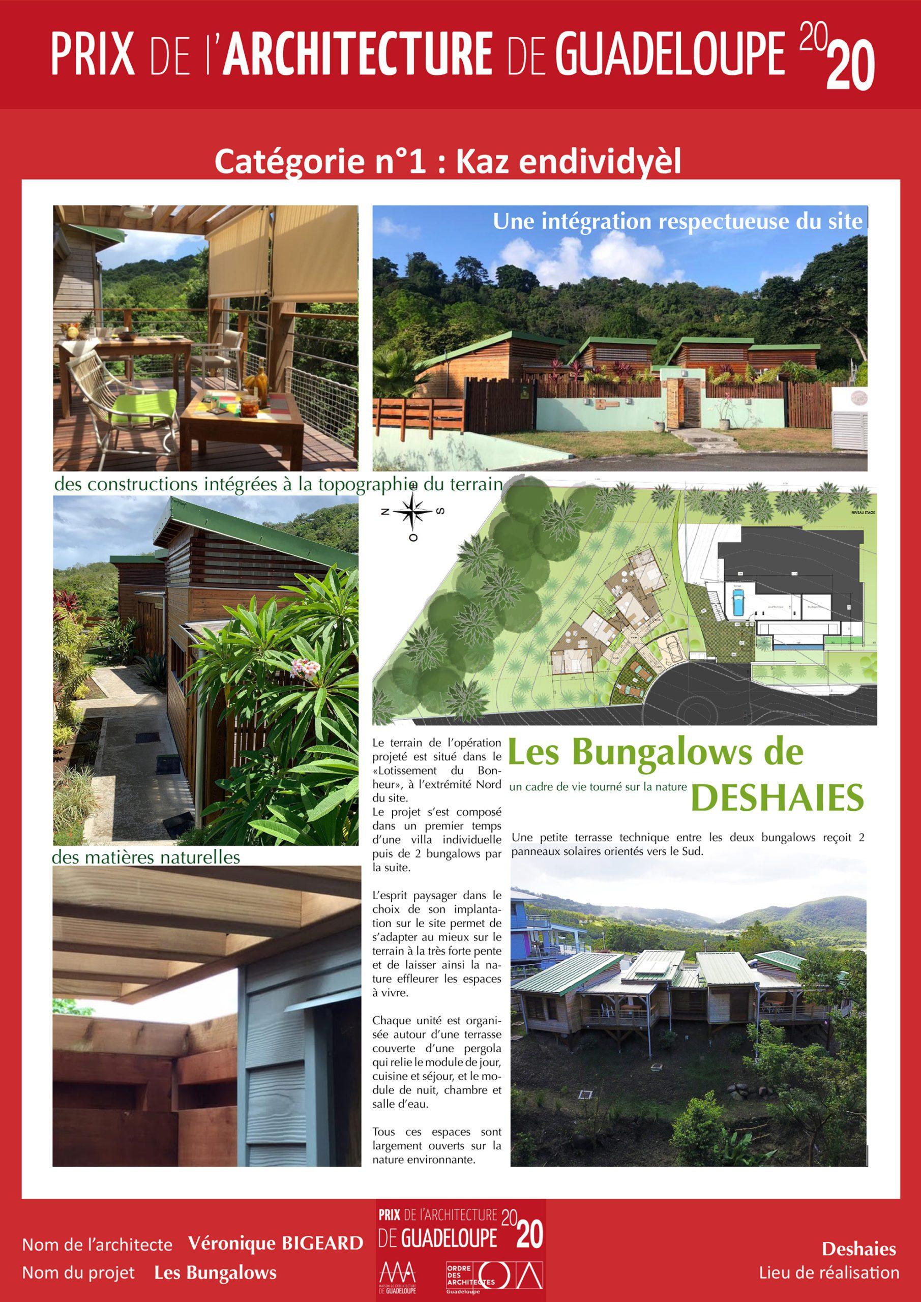 Les bungalows de Deshaies (Véronique Bigeard)