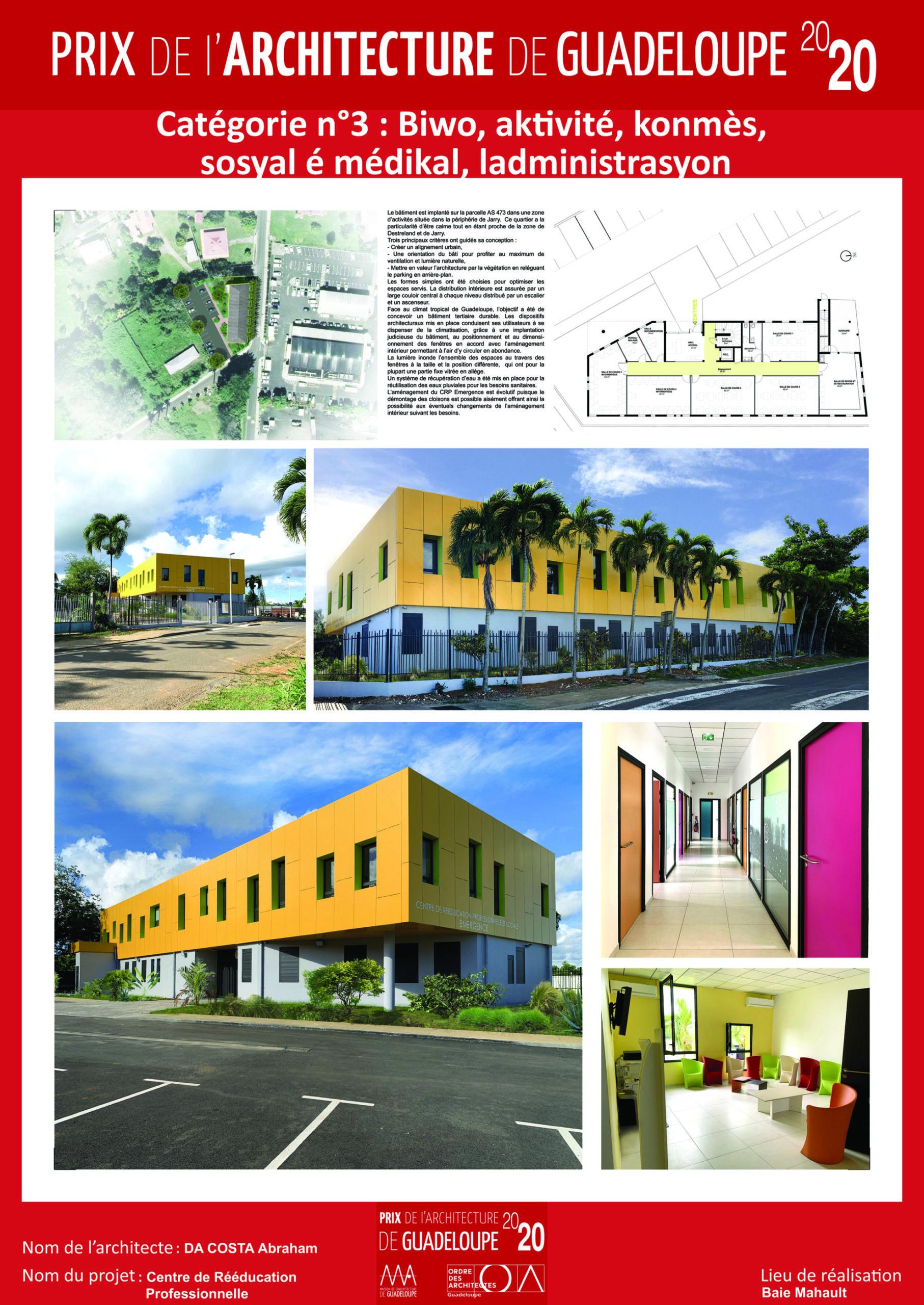 Centre de rééducation professionnelle (Abraham Da Costa)