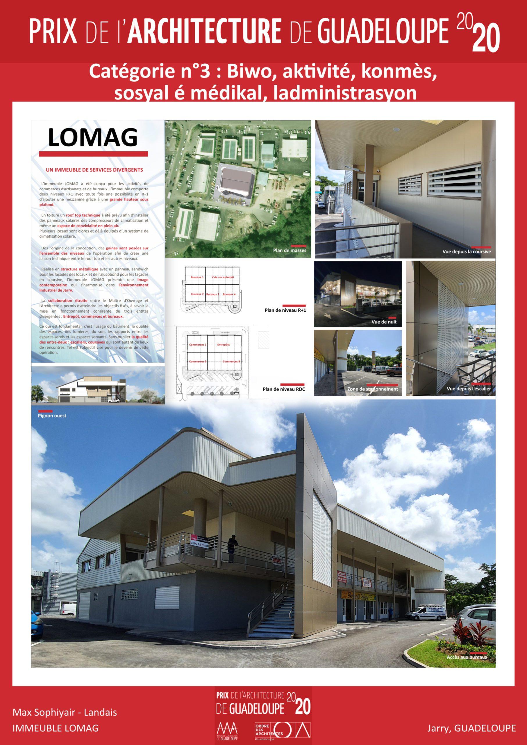 Immeuble LOMAG (Max Sophiyair-Landais)